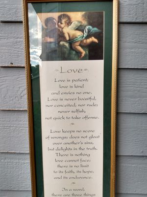 Angel of love picture for Sale in Colorado Springs, CO