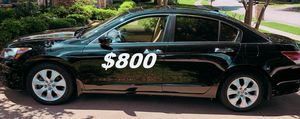 $ 8OO For Sale URGENT 2OO9 Honda accord sedan Runs and drives very smooth CLEAN TITLE!!! for Sale in Arlington, VA