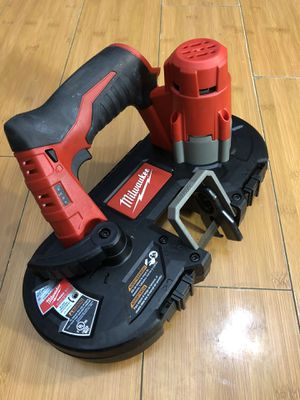 Milwaukee 12-Volt Cordless Sub-Compact Band Saw (Tool-Only) for Sale in Los Angeles, CA