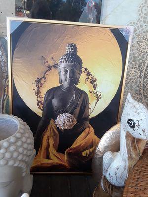 Cool tall canvas Buddha wall art for Sale in Dunedin, FL