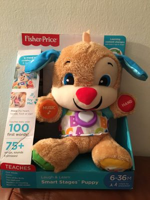 Fisher-Price Laugh & Learn Smart Stages Puppy for Sale in Renton, WA