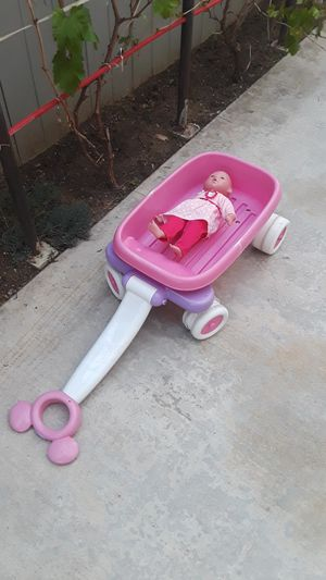 Wagon for toys with music (not includes doll). for Sale in Riverside, CA