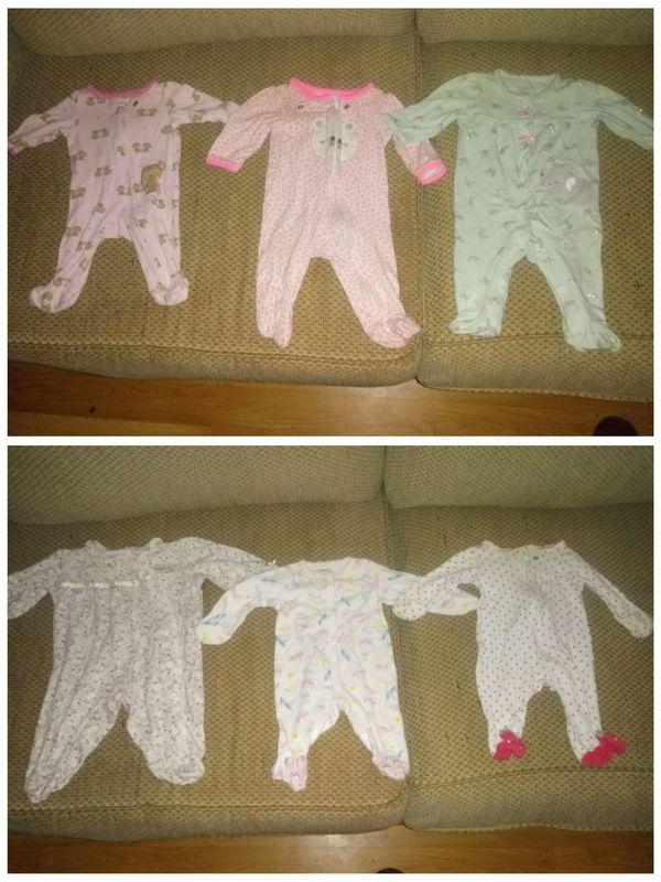Girls clothes lot 0-9 months