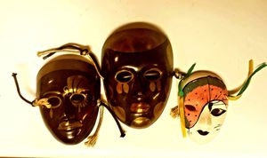 Masks metal and ceramic for Sale in El Centro, CA