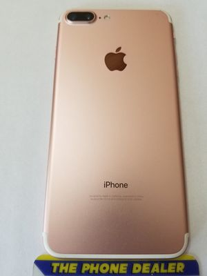Unlocked iphone 7 Plus 256g Rose Gold excellent clean imei for Sale in San Jose, CA