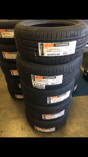Brand new hankook Tires 205/50/15 civic integra Miata e30 for Sale in South El Monte, CA