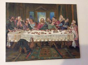 Last supper oil painting for Sale in Alexandria, VA