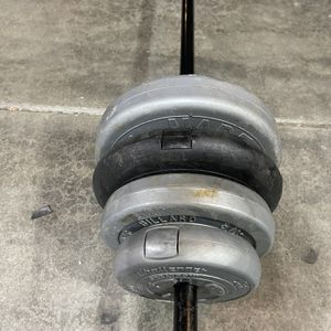 Weights With Bar for Sale in Lake Stevens, WA