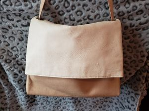 Large Carlos Santana Two-tone Leather Hobo Shoulder Bag for Sale in North Providence, RI