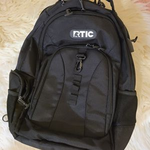 Rtic Black Backpack Summit Bag Laptop Carrier for Sale in Houston, TX