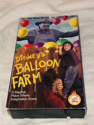 Balloon Farm, Disney VHS Rip Torn, Mara Wilson for Sale in Cockeysville, MD