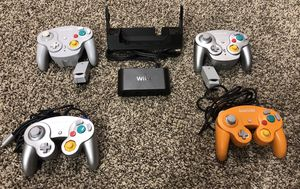 Nintendo Switch/Wii U GameCube Adapter & Controllers Wavebird for Sale in Mukilteo, WA