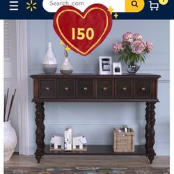 Brand new!Console Table Buffet Cabinet Sideboard for Entryway with Storage Drawers and Bottom Shelf, Entryway Table Accent Table(expresso Color) for Sale in Hacienda Heights,  CA