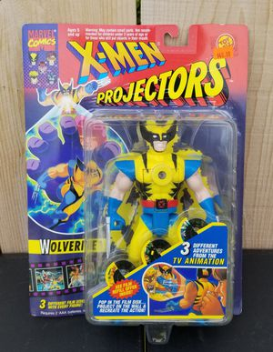 ($30) NEW 1994 MARVELS X-MEN WOLVERINE PROJECTORS ACTION FIGURE for Sale in Stockton, CA