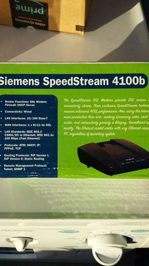 Siemens speedstream Router/Modem 4100 B for Sale in San Diego, CA