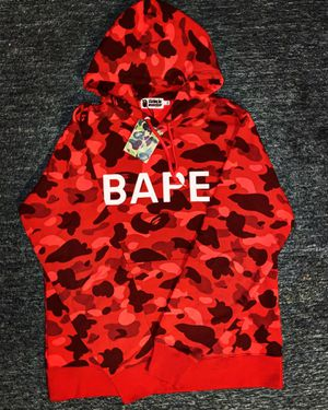 Bape Color Camo Red Pullover for Sale in Taunton, MA