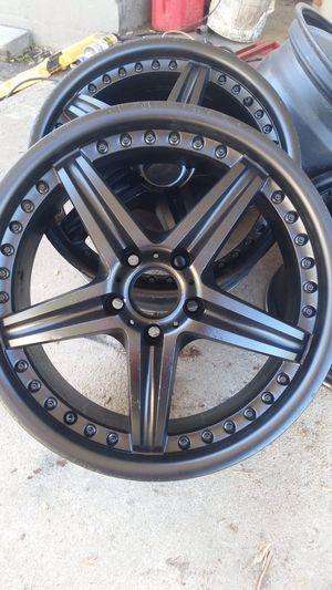 Motegi MR107 18x8 wheels for Sale in Dublin, GA