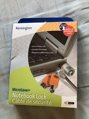 Kensington Microsaver Notebook (Laptop) Lock for Sale in Annandale, VA