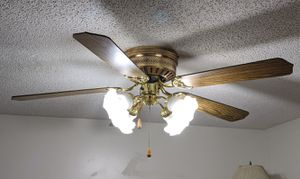 Ceiling Fan and Light for Sale in VERNON ROCKVL, CT