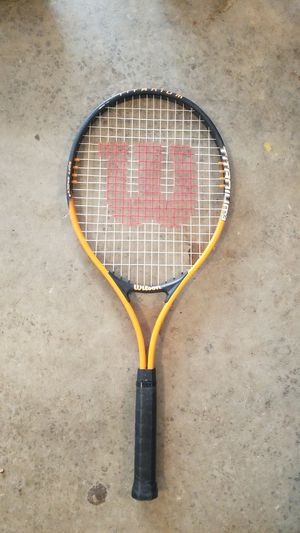 Slightly used Wilson tennis racket for Sale in Pittsburgh, PA