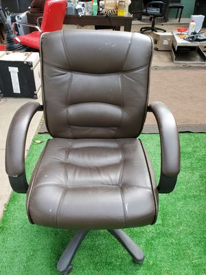 BROWN OFFICE CHAIR for Sale in Huntington Beach, CA