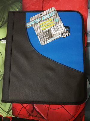 Tech Gear Zipper Binder for Sale in Mesa, AZ