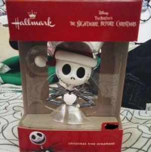 Nightmare Before Christmas Disney Jack Hallmark Ornament for Sale in Fresno, CA