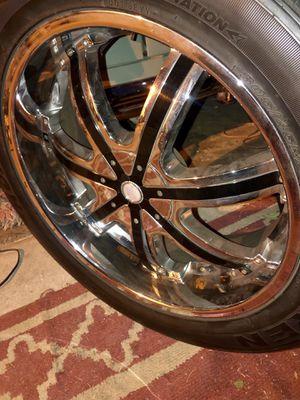 22 inch 6 lug massa rims for Sale in Rialto, CA