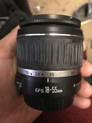 Canon efs 18-55mm camera lens for Sale in Los Angeles, CA