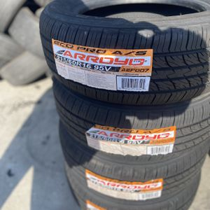 215/60R16 Arroyo $280 Four Brand New Tires ( Installation & Balancing Included ) for Sale in Rialto, CA