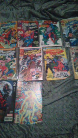 10 spiderman comics for Sale in Lancaster, TX