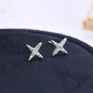 APM Star silver with diamonds earrings brand new for Sale in New York, NY