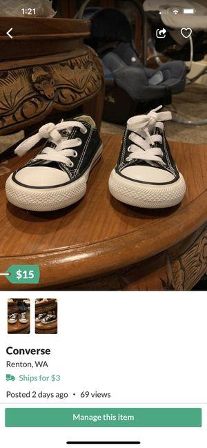 Converse / Vans for Sale in Renton, WA