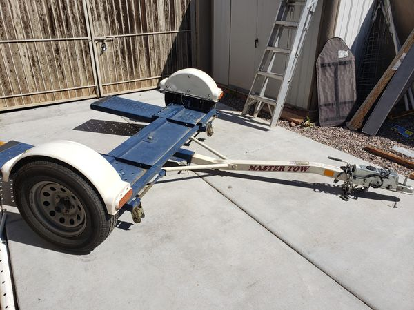 Tow Dolly with Surge Brakes and Trailer Dolly