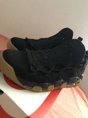 Air More Money Black Gum Size 10.5 (MUST PICK UP) for Sale in Indianapolis, IN