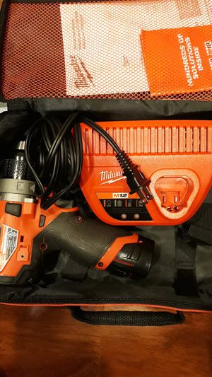 """Milwaukee m12 fuel 1/2"""" hammer drill for Sale in Los Angeles, CA"""
