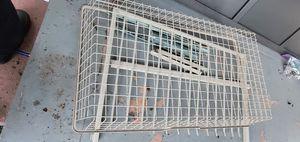 Ikea wardrobe doors, basket, pants hanger for Sale in Los Angeles, CA