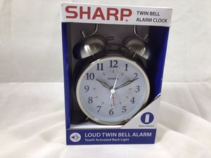 Sharp Twin Bell Bedroom Alarm Clock NEW for Sale in Kent, WA