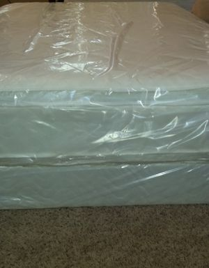 Cal king thick pillow top new bed can deliver for Sale in Stockton, CA