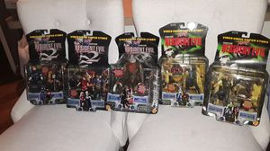 Resident evil action figures collections for Sale in Spring Valley, CA