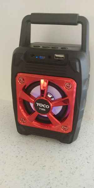 Small Bluetooth portable speaker led for Sale in Las Vegas, NV