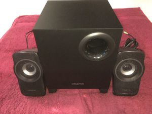 Creative A220 2.1 Speaker System with Bass for Sale in Tustin, CA