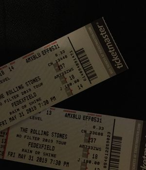 Rolling Stones tickets for Sale in Fairfax Station, VA