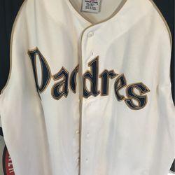 San Diego padres baseball jersey true fan genuine merchandise for Sale in Bakersfield,  CA