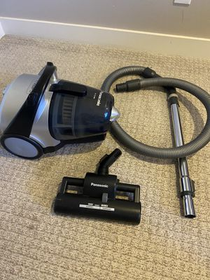 Panasonic canister vacuum for Sale in West Sacramento, CA