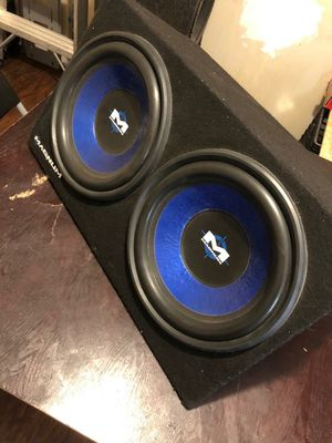 "Two 12"" Magnum Subwoofers for Sale in Atlanta, GA"