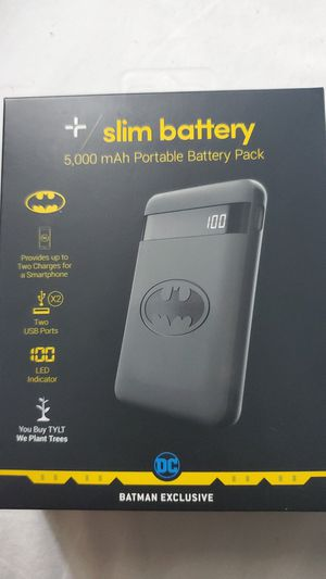 Slim portable battery pack for Sale in Mundelein, IL
