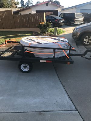 Used utility trailer 5x8 for Sale in Lincoln Acres, CA