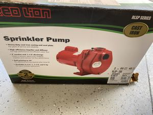Red Lion Sprinkler Pump for Sale in Raleigh, NC