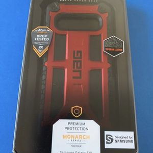 Galaxy S10 - UAG Monarch Series Case - Red/Black for Sale in Jonesboro, GA